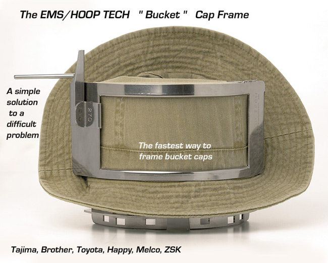 Embroidery Systems Canada Hoop Tech Cap Frames For Melco