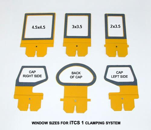 Small Chassis Windows For Hoop Tech Clamping System For Melco, Tajima, Barudan, SWF, Happy Embroidery Machines