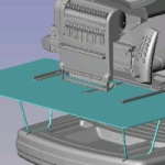 Tabletop Option For Amaya XT Embroidery Machines