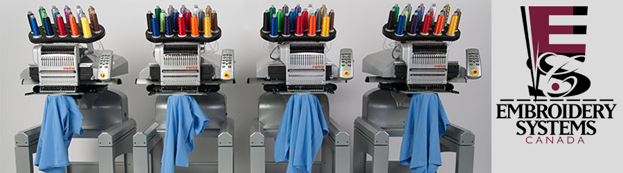 Embroidery Systems Canada Melco Embroidery Machines Amaya Coats